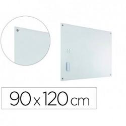 Quadro cristal planning sisplamo moldura magnetica com suporte para apagador e 5 imans 90x120 cm