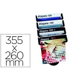 Expositor sobremesa paper-flow 4 compartimentos tamaño din a4+ color preto 355x260x350 mm