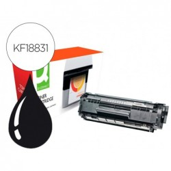 Toner compativel q-connect canon fx10-xl i-sensys fax l-100 / 120 xxl preto 4000 paginas