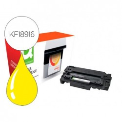 Toner compativel q-connect canon lbp710y i-sensys lbp-710 / 712 amarelo 10000 paginas