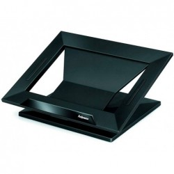 "Suporte fellowes para portatil ate 17"" angulo ajustavel ate 30º base antideslizante 328x276x92 mm"""