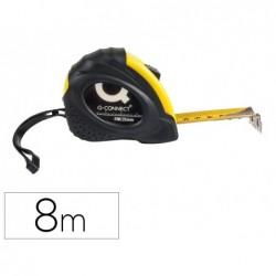 Fita metrica q-connect de 8 mt material antichoque 23 mm de comprimento