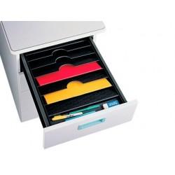 Bandeja organizadora fast-paperflow de gavetas 90x327x457 mm
