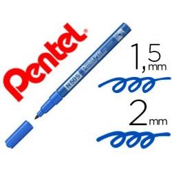 Marcador pentel n50s permanente cor azul 1