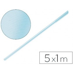 Papel kraft liderpapel rolo azul ceu 5x1 mt 65 gr