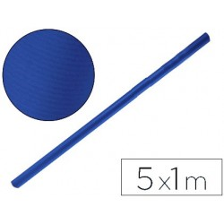 Papel kraft liderpapel rolo azul 5x1 mt 65 gr