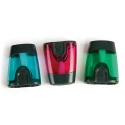 Apara lapis liderpapel plastico 1 uso com deposito