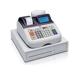 Registadora olivetti ecr 8200 profissional display lcd grafica 99 departamentos funcao especifica restauracao conexao pc