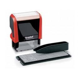 Carimbo automatico framun 38 x 14 mm especial impressão em textil tinta preta