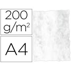 Papel pergaminho din a4 troquelado 200 gr cor marmoreados cinza pack de 25 folhas