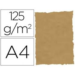 Papel pergaminho din a4 troquelado 125 gr pele elefante cor pergaminho pack de 25 folhas