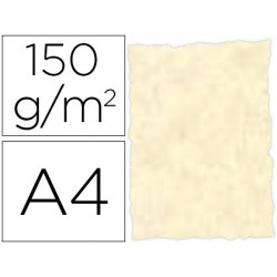 Papel pergaminho din a4 troquelado 150 gr cor parchment topacio pack de 25 folhas