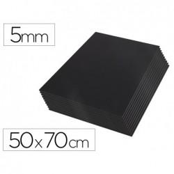 Cartao kapaline liderpapel preto dupla face 50x70 cm espessura 5 mm