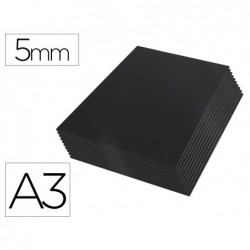 Cartao kapaline liderpapel preto dupla face din a3 espessura 5 mm