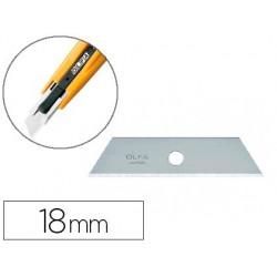 Recarga lamina para x-ato olfa largura 18 mm blister de 5 unidades
