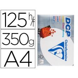 Papel fotocopia clairefontaine din a4 350 gr pack de 125 folhas