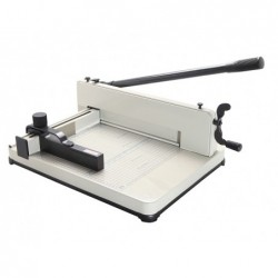 Guilhotina q-connect kf16916 manual profissional comprimento do corte 330 mm capacidade 400 folhas