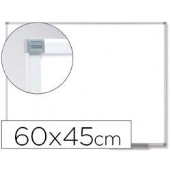 Quadro branco nobo classic magnetico de aco vitrificado 60x45 cm