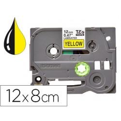 Fita q-connect tze-631 amarelo-preta 12mm comprimento 8 mt
