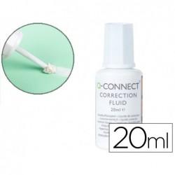 Corretor q-connect frasco 20ml aplicador espuma