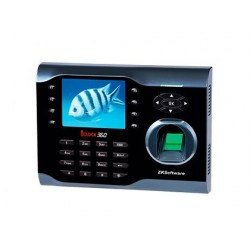 Controlador de presenca zkteco iclock360 com codigo pin cartao rfid ou impressao digital ate 100 usuarios
