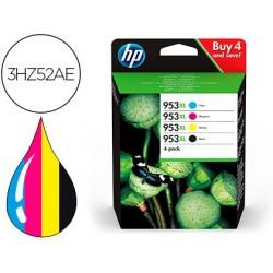 Tinteiro hp 953xl officejet pro 7730 / 7720 / 7740 / 8210 / 8730 pack 4 cores preta / amarelo / cian / magenta 1600 pag