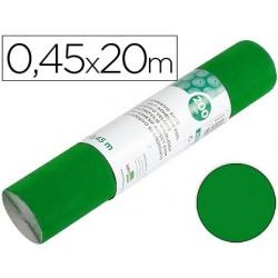 Rolo adesivo liderpapel unicolor verde brilho rolo de 0