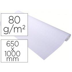 Recarga para quadro congresso exacompta papel premium offconjunto 80gr quadricula 25x25 mm 20 folhas 65x100 mm