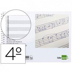 Caderno de musica liderpapel pentagrama pautado 2