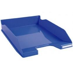 Tabuleiros de secretaria exacompta combo 2 classic azul 347x255x65 mm