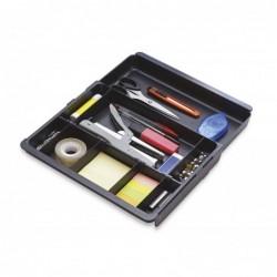 Tabuleiro de secretaria exacompta drawinsert de gavetas cor preta 298x246x36 mm