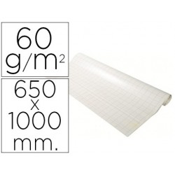 Recarga para quadro congresso exacompta papel 60gr quadricula 25x25 mm 48 folhas 65x100 mm