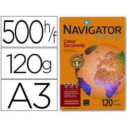Papel fotocopia navigator din a3 pack 500 folhas120 gr