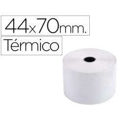 Rolo de calculadora exacompta termico 44 mm x 70 mm 55 g/m2