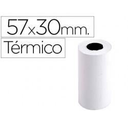Rolo de calculadora exacompta termico 57 mm x 30 mm 55 g/m2