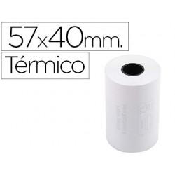 Rolo de calculadora exacompta termico 57 mm x 40 mm 55 g/m2