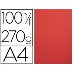 Cartolina exacompta forever avorio din a4 270 gr vermelha pack de 100 unidades