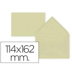 Envelope liderpapel c6 creme 114x162 mm 80gr pack de 15 unidades
