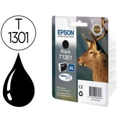 Cartucho de tinta epson stylus sx525wd/620fw office b42wd/bx320fw/525wd t1301 preto