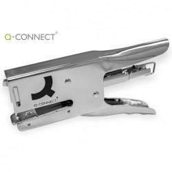 Agrafador q-connect alicate capacidade 40 folhasusa agrafes 24/6 26/6