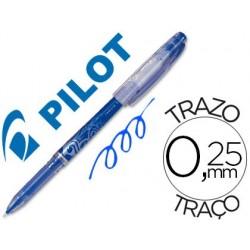 Esferografica pilot frixion ponta fina azul