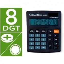 Calculadora citizen de secretaria sdc-805-bn 8 digitos 124x102x25 mm preta