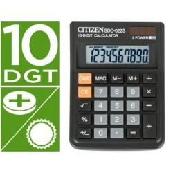 Calculadora citizen de secretaria sdc-022-s secretaria 10 digitos