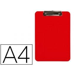 Porta notas q-connect plastico din a4 vermelho 2