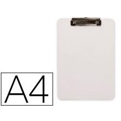 Porta notas q-connect plastico din a4 branco 2