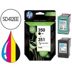 Cartucho de tinta hp n.350/n.351 dual pack dj 4260 / 4360 oj j5730 / j5780 / j5785 / j6410 / j6415 / j6424