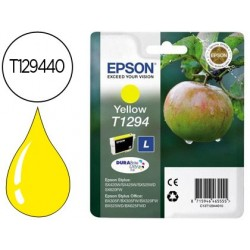 Cartucho de tinta epson stylus t1294 amarelo sx420w / 425w / office bx305f / bx320f -alta capacidade