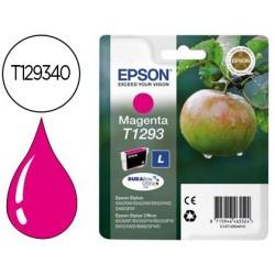 Cartucho de tinta epson stylus t1293 magenta sx420w / 425w / office bx305f / bx320f -alta capacidade