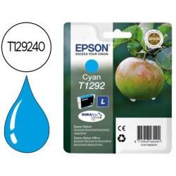 Cartucho de tinta epson stylus t1292 cian sx420w / 425w / office bx305f / bx320f -alta capacidade