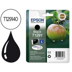 Cartucho de tinta epson stylus t1291 preto sx420w / 425w / office bx305f / bx320f -alta capacidade